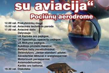 Aviacijos šventė Pociūnuose