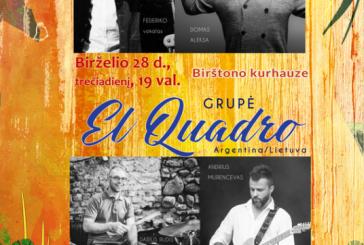 """Birštono Kurhauze – grupė """"El Quadro"""""""