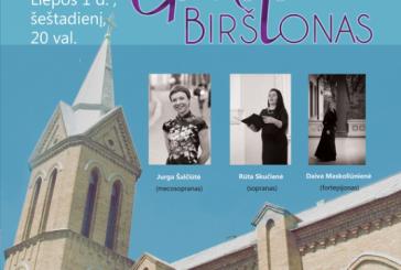 Sakralinės muzikos festivalis Birštono bažnyčioje
