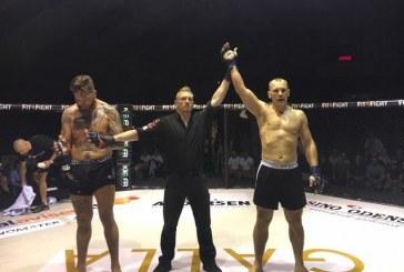 Prieniškis iškovojo pergalę MMA turnyre Danijoje