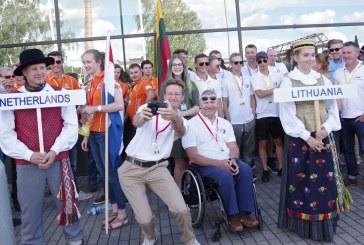 Pasaulio jaunimo sklandymo čempionatas. Atidarymo ceremonija (Foto reportažas)