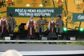 """""""Vajaunas"""" ir """"Gija"""" Tautišką giesmę giedojo ant Dubingių piliakalnio"""
