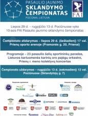 Pasaulio jaunimo sklandymo čempionatas Pociūnuose