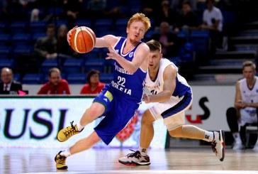 """""""Jones Cup"""" tarptautiniame krepšinio turnyre ‒ """"Vytauto"""" komandos žaidėjų pavardės"""