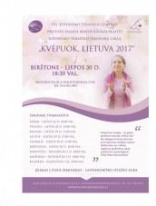 Kvėpavimo terapijos seminaras Birštone