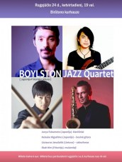 """Boylston jazz quartet"" Kurhauze"