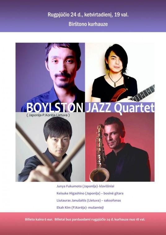 BOYLSTON JAZZ Quartet