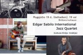 """Edgar Sabilo international Jazz Quartet"" Kurhauze"