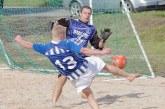 Paplūdimio futbolo parodomosios rungtynės Prienuose (Foto reportažas)