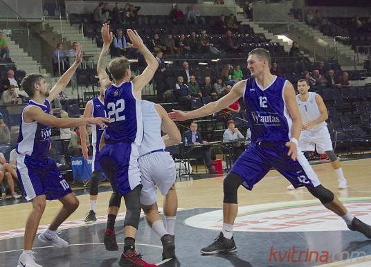 Egidijus  Dimša buvo taip pat rezultatyvus (19 taškų)