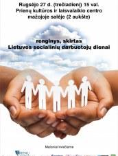 Socialinių darbuotojų diena Prienų KLC