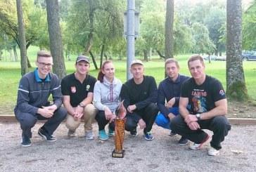 """Tarptautinio nacijų komandinio turnyro nugalėtoja ‒ """"Birštono"""" komanda"""