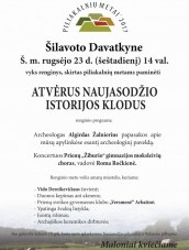 Renginys Davatkyne