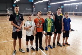 Prienų krašto badmintonininkai Vilniuje iškovojo 7 medalius