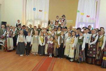 Veiveriškiai šoko kartu su visa Lietuva