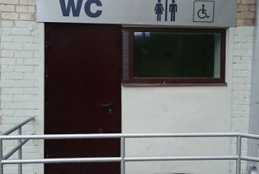 Viešasis tualetas įrengtas, išbandytas, bet uždarytas