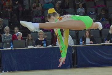 Lietuvos mokinių aerobinės gimnastikos asmeninės pirmenybės (Foto akimirkos)