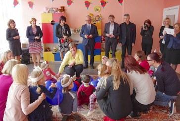 Jiezne atidaryta dar viena ikimokyklinukų grupė (Foto reportažas)