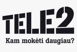 """""""Tele2"""" toliau mažina kainas: 100 GB """"Pildyk"""" interneto – už 1,99 Eur"""
