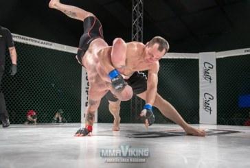 """Prieniškis Rokas Stambrauskas kovos dėl """"King of the Cage"""" čempiono diržo"""