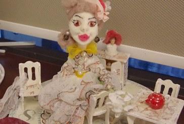 Zofijos Veikšienės lėlių paroda Birštono bibliotekoje (Foto reportažas)