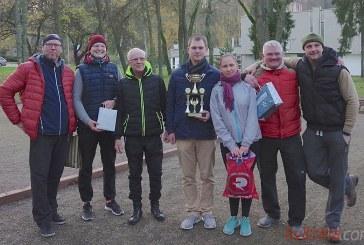 """""""Plieninis"""" dvejetas iš Pakumprio – Aleksandro Gorino vardo petankės turnyro nugalėtojas"""