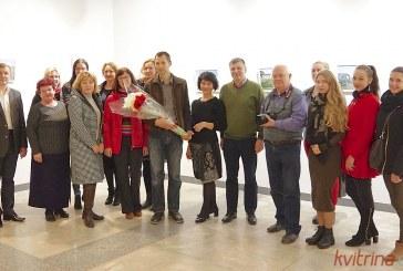 Fotomenininko Vitus Saloshanko parodos Prienuose atidarymas (Foto reportažas)