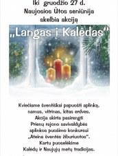 """""""Langas į Kalėdas""""  N.Ūtoje"""
