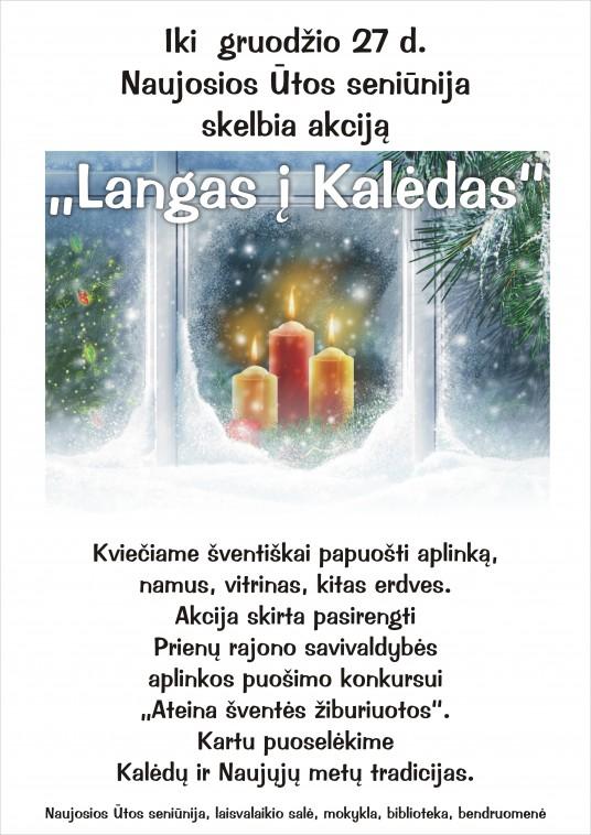 Skelbimas Langas i Kaledas 2017 (1)