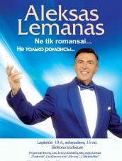 Alekso Lemano koncertas Kurhauze