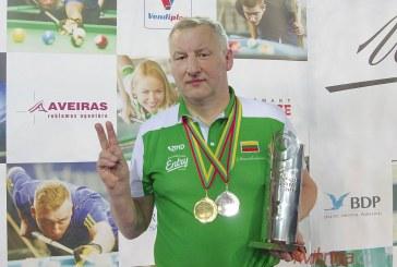 Gintauto Danilevičiaus pralaimėjimas pulo-10 čempionato starte virto aukso medaliu