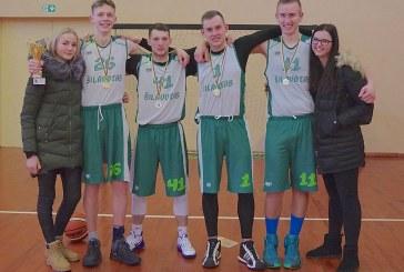 Kalėdinio krepšinio turnyro Išlauže nugalėtojai – Šilavoto krepšininkai