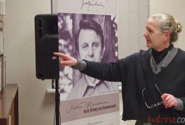 """Knygos """"Justinas Marcinkevičius: kokį jį prisimename""""  pristatymas Prienų bibliotekoje (Foto reportažas)"""