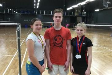 Balbieriškio badmintonininkės – CBC turnyro dvejetų varžybų nugalėtojos