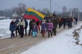 Lietuvos šimtmečio proga – 25 km patriotinis žygis ir atminimo lentos atidengimas