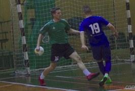 Salės futbolo pirmenybėse – rezultatyvios rungtynės, pasibaigusios tik vieno įvarčio skirtumu