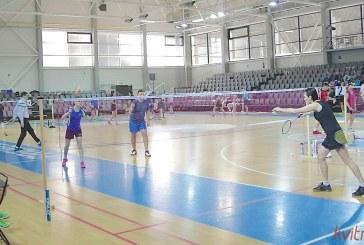 Prienuose keturių šalių badmintonininkai varžėsi dėl mero taurės