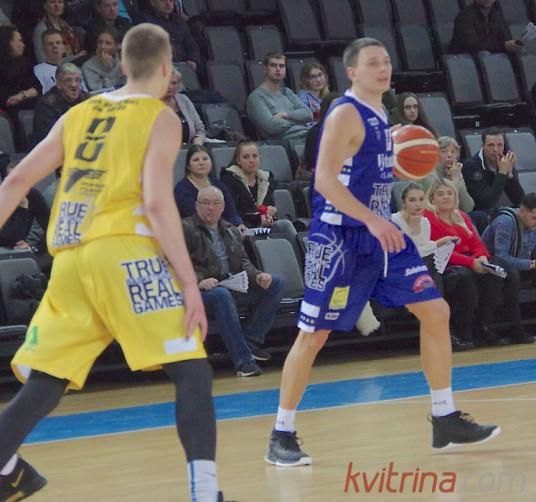 Denys Lukašov ryškiai prisidėjo prie komandos pergalės Šiauliuose