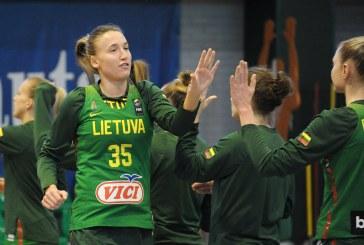 Mantė Kvederavičiūtė prie Lietuvos rinktinės pergalės prisidėjo 7 taškais