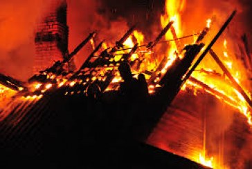Stakliškėse užgesintame name surastas stipriai apdegęs vyro kūnas