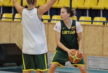 Lietuva įveikė Albaniją. Mantė Kvederavičiūtė prie pergalės prisidėjo 10 taškų