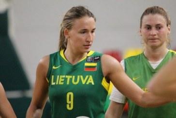 Prieniškė pakviesta į Lietuvos moterų krepšinio rinktinę