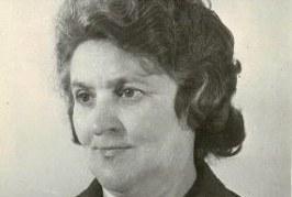 2018 m. vasario 20 d. mirė ilgametė Pakuonio vidurinės mokyklos mokytoja