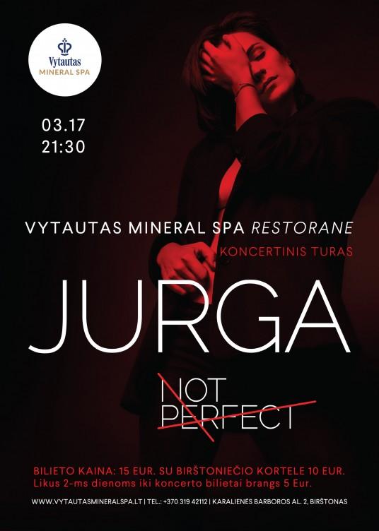 plakatas JURGA A5