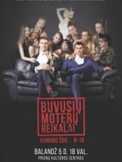 J. Jankevičiaus ir M. Stonkaus humoro šou Prienų KLC