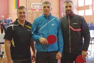 Jurgio Janulio vardo stalo teniso turnyras (Foto akimirkos)