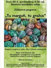 Edukacinė programa Ašmintos laisvalaikio salėje