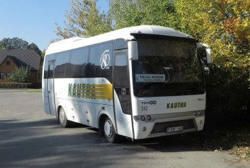 Keičiasi autobusų maršruto Prienai – Veiveriai išvykimo laikas