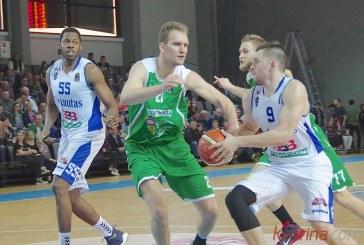 """Galingai sužaidęs pirmąsias 25 rungtynių su """"Dzūkija"""" minutes, """"Vytautas"""" nutiesė kelią link antros iš eilės pergalės"""