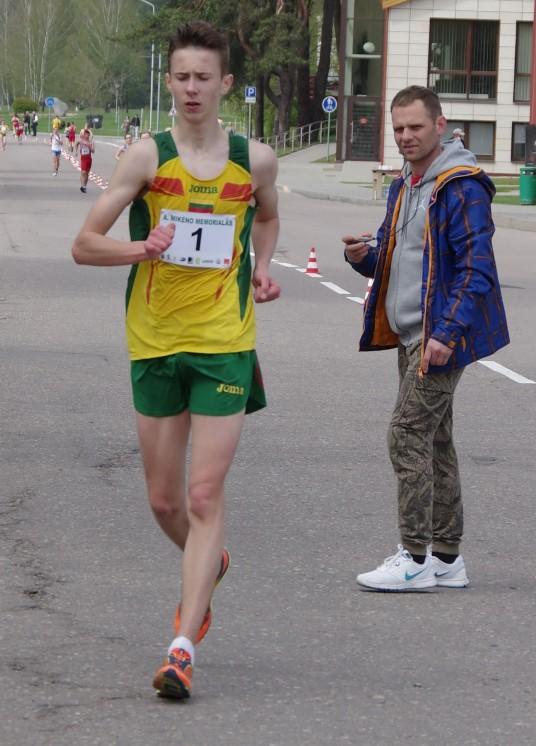 Paulius Juozaitis savo amžiaus grupėje užėmė  2 vietą, bet rezultatu liko nepatenkintas